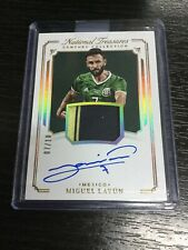 2018 Panini National Treasures Miguel Layun Gold /10 Patch Auto Autograph Mexico