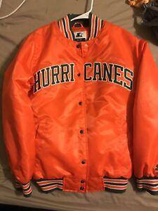 Miami Hurricanes Vintage style Starter Jacket