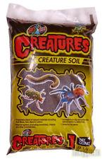 Zoo Med Creatures Soil 1ltr Spiders Tarantulas Scorpions