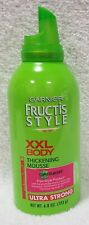 Garnier Fructis Style XXL BODY THICKENING MOUSSE Ultra Strong 6.8 oz/193g New