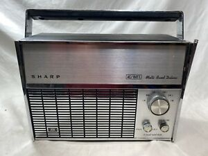 Vintage SHARP Multi Band Deluxe Radio Model FV-1710 IN GREAT CONDITION