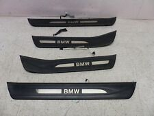 10-17 BMW 535i 550i GT F07 Door Sill Set of 4 Illuminated OEM