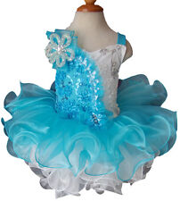 Infant/toddler/kids/baby/Girl's Pageant/prom/formal Dress size1-7 G025-7