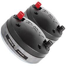 "Pair PRV Audio D230Ti-B 1"" Titanium Horn Compression Driver 8 Ohm 2/3-Bolt"