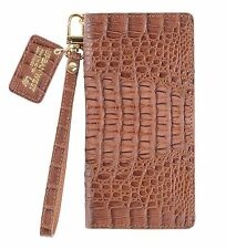 For Samsung Galaxy Note 9 &8 /URBANWEST Caiman Leather Handmade Cell Phone Case