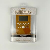 2008 Mattel Radica Lighted Solitaire Handheld Electronic 2-in-1 Card Game New