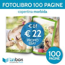 FOTOALBUM FOTOLIBRO 100 PAGINE f.to A4 - Cop. morbida IDEA REGALO | FOTO