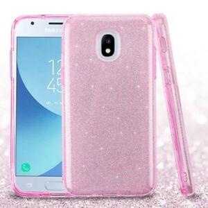 For Samsung Galaxy J3 Star/Orbit/J3 Achieve Shockproof Bling Glitter Case Cover