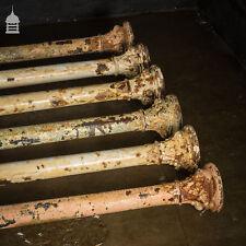 More details for set of six 19th c cast iron columns pillars stanchions