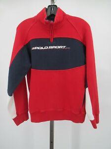 H1277 Men's Polo Sport Ralph Lauren Half-Zip Pull-Over Sweater Size XL