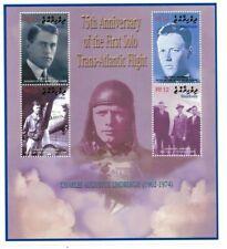 MODERN GEMS - Maldives - Charles Lindbergh - Sheet Of 4 - MNH