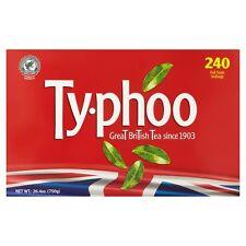 Typhoo 240 bustine di tè 750g-venduta in tutto il mondo dal Regno Unito