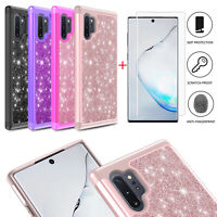 For Samsung Galaxy Note 10/10 Plus 5G Case Cover+Tempered Glass Screen Protector