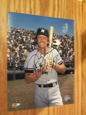 NY Yankees star Ron Blomberg autographed 8x10 photo picture in Jim Beam suite
