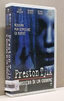 PRESTON TYLK - il mistero di un crimine [vhs, cvc, wilson, reedus, farina]