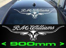 RMW RM WILLIAMS STICKER 900mm DECAL LONGHORN UTE TRUCK car 4X4
