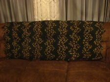 """Large Handmade Chevron Hunter""""s Green and Camouflage Afghan"""