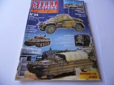 STEEL MASTERS ISSUE 54 - MILITARY HISTORY WARGAMING MAGAZINE