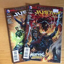 LOT COMICS JUSTICE LEAGUE FOREVER EVIL N° 24 ET 25