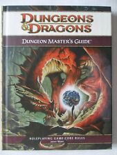 D&D Dungeons Dragons 4th ED DUNGEON MASTER'S GUIDE 4E Core Rules Game d20
