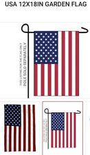 New listing Garden Flag - American Flag 12x18