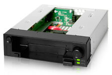 """New ICY Dock MB971SP-B DuoSwap 2.5"""" + 3.5"""" SATA HDD Hard Drive Mobile Rack"""