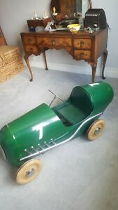 Vintage triang Pedal Car Brooklands RARE