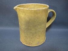 Ancien pot à eau pichet ou broc en terre vernissée de Savoie french antique