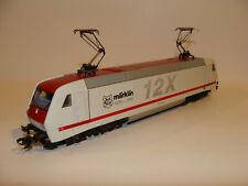 """NEW! Märklin 3738 HO Scale DIGITAL - BR128 E-Lok 12X """"Märklin"""", #128 518-8 - NOS"""