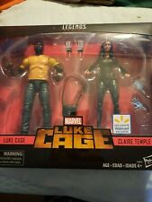 Marvel Legends Luke Cage Walmart Luke Cage Claire Temple 2 pack exclusive NEW