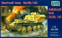 UM 1/72 348 WWII German Sd.Kfz.140 Anti-Aircraft Tank w/2cm Flak 38 AA Gun