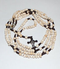 20 Decade Apparition Hill Medjugorje Stone Beads Holy Rosary of Sacred Mysteries