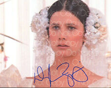 Daphne Zuniga Vespa spaceballs signed 8X10 photo picture autograph poster RP