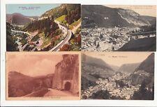 Lot 4 cartes postales anciennes JURA MOREZ 4