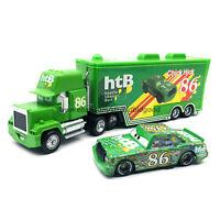 Disney Pixar Cars Chick Hicks Hauler Truck 1:55 Diecast Model Loose Kid Gift Toy