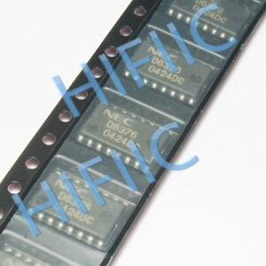 1/5/10PCS UPD6376GS D6376 AUDIO 2-CHANNEL 16-BIT D/A CONVERTER SOP16