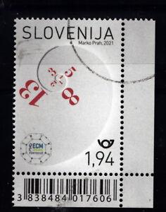 """Slowenien-Mustermarke """"Mathematiker-Kongreß"""""""