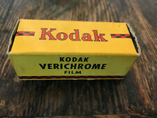 Kodak Verichrome V 120 Camera Roll Film 8 exp 10/1942 WWII Era Factory Sealed