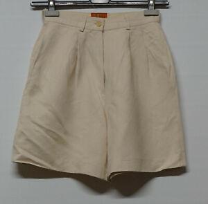 Vintage Kenzo Jungle linen short pants size 38