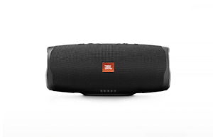 JBL Charge 4 Portable Bluetooth Speaker - Black and Red