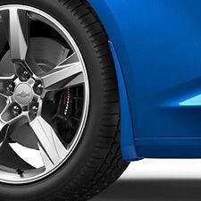 2016-2018 Camaro Genuine GM Front Splash Guards Hyper Blue Metallic 23436519