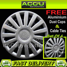 "15"" Audi VW Style Car Sport Wheel Trims Covers Set Of 4"