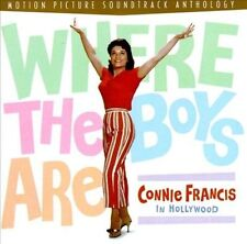 Where the Boys Are: Connie Francis in Hollywood by Connie Francis (CD, Apr-1997, Rhino (Label))