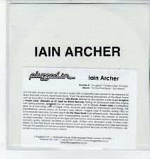(BO666) Iain Archer, Songbird - DJ CD