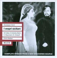 Giuseppe Verdi : Verdi: I Vespri Siciliani CD