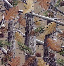Queen Size The Huntsman Collection Luxury Plush Raschel Blanket--Camo Trees