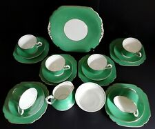 ART DECO  21 PIECE  COALPORT TEA SET