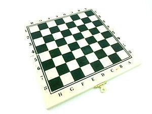 Schachspiel Spielfiguren Schach Reise Urlaub klein handlich 1 Spielbrett Holz