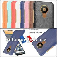 Etui Housse coque Crocodile Texture Design Cuir PU Leather Case Cover Nokia 5.3