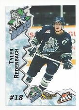 2004-05 Swift Current Broncos (WHL) Tyler Redenbach (Tappara)